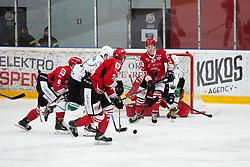 ULAMEC Luka during Alps League Ice Hockey match between HDD SIJ Jesenice and HK SZ Olimpija on March 2, 2020 in Ice Arena Podmezakla, Jesenice, Slovenia. Photo by Peter Podobnik / Sportida