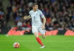 James Milner of England (c)  - Mandatory by-line: Dougie Allward/JMP - 29/03/2016 - FOOTBALL - Wembley Stadium - London, United Kingdom - England v Netherlands - International Friendly