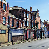 09/06/21 Changing Britian - Grimsby. Shots around the Fish Dock area of Grimsby Docks with many disused building and with plans to regenerate the area.