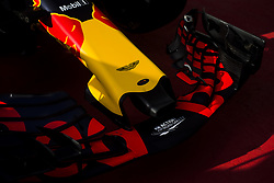 August 24, 2017 - Spa, Belgium - 33 Red Bull Tag Heuer front wing detail during the Formula One Belgian Grand Prix at Circuit de Spa-Francorchamps on August 24, 2017 in Spa, Belgium. (Credit Image: © Xavier Bonilla/NurPhoto via ZUMA Press)