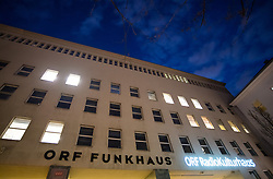 "20.03.2019, Radio Kulturhaus, Wien, AUT, Ö1, Sendung ""Klartext"" zur Europawahl 2019, im Bild Außenansicht ORF Funkhaus // during political discussion of the Austrian Broadcasting Corporation according to EU elections 2019 in Vienna, Austria on 2019/03/20, EXPA Pictures © 2019, PhotoCredit: EXPA/ Michael Gruber"