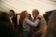 MARIANNE SACHS AND PRINCE MICHAEL OF KENT, Cartier Style et Luxe lunch. Goodwood.  24 June 2007.  -DO NOT ARCHIVE-© Copyright Photograph by Dafydd Jones. 248 Clapham Rd. London SW9 0PZ. Tel 0207 820 0771. www.dafjones.com.