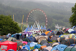 Camp site..Rockness, Sunday 13th June..Pic ©2010 Michael Schofield. All Rights Reserved.