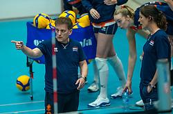 Coach Avital Selinger of Netherlands, Ass coach Francien Huurman of Netherlands in action during the Women's friendly match between Belgium and Netherlands at Topsporthal Beveren on may 09, 2021 in Beveren, Belgium (Photo by RHF Agency/Ronald Hoogendoorn)