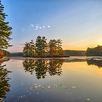 New England fall foliage and scenic view of Harvard Pond in Petersham, Massachusetts. <br /> <br /> Massachusetts fall foliage photos are available as museum quality photo, canvas, acrylic, wood or metal prints. Wall art prints may be framed and matted to the individual liking and interior design decoration needs:<br /> <br /> https://juergen-roth.pixels.com/featured/harvard-pond-in-petersham-massachusetts-juergen-roth.html<br /> <br /> Good light and happy photo making!<br /> <br /> My best,<br /> <br /> Juergen