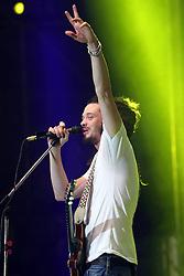 Jacob Hemphill vocalista do SOJA - Soldiers of Jah Army durante o Planeta Atlântida 2013/RS, que acontece nos dias 15 e 16 de fevereiro na SABA, em Atlântida. FOTO: Jefferson Bernardes/Preview.com