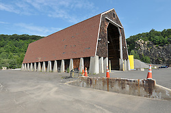 CT-DOT Project No. 06-119 Beacon Falls Salt Shed. Photographs on 20 July 2009.