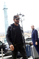 March 5, 2018 - Paris, France - Actor Justin Theroux arrives at his hotel in Paris, France, on March 5, 2018. (Credit Image: © Mehdi Taamallah/NurPhoto via ZUMA Press)