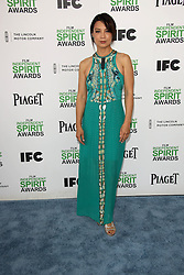 Ming-Na Wen at the 2014 Film Independent Spirit Awards Arrivals, Santa Monica Beach, Santa Monica, United States, Saturday, 1st March 2014. Picture by Hollywood Bubbles / i-Images<br /> UK ONLY
