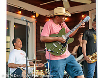Joanne Craig throws the best pre-4th of July party that there ever was in all of history. Wille J Laws Jr and the band entertained.