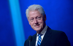 Bill Clinton at the annual meeting of the Clinton Global Initiative (CGI) in New York City, NY, USA, on Monday, September 19, 2016. The annual CGI meetings bring together heads of state, leading CEOs, philanthropists, and members of the media to facilitate discussion and forward-thinking initiatives that challenge the way we impact the future. Photo by Dennis van Tine/ABACAPRESS.COM
