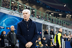 November 26, 2019, Milano, Italy: gian piero gasperini (atalanta)during Tournament round - Atalanta vs Dinamo Zagreb , Soccer Champions League Men Championship in Milano, Italy, November 26 2019 - LPS/Francesco Scaccianoce (Credit Image: © Francesco Scaccianoce/LPS via ZUMA Wire)