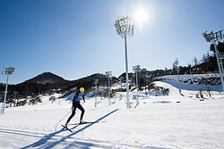 February 5, 2018 - Pyeongchang, SOUTH KOREA - 180205 Anna Dyvik of Sweden during a training session on February 5, 2018 in Pyeongchang..Photo: Jon Olav Nesvold / BILDBYRN / kod JE / 160136 (Credit Image: © Jon Olav Nesvold/Bildbyran via ZUMA Press)