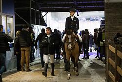 Spits Thibault, BEL, Cleostrade<br /> Jumping Mechelen 2017<br /> © Sharon Vandeput<br /> 30/12/17