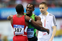 07.03.2014, Ergo Arena, Sopot, POL, IAAF, Leichtathletik Indoor WM, Sopot 2014, Tag 1, im Bild MARVIN BRACY GERALD PHIRI // MARVIN BRACY GERALD PHIRI during day one of IAAF World Indoor Championships Sopot 2014 at the Ergo Arena in Sopot, Poland on 2014/03/07. EXPA Pictures © 2014, PhotoCredit: EXPA/ Newspix/ Piotr Matusewicz<br /> <br /> *****ATTENTION - for AUT, SLO, CRO, SRB, BIH, MAZ, TUR, SUI, SWE only*****