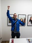MARK WOOD, The Verve, photographs by Chris Floyd ... Art Bermondsey Project Space, London. 6 September 2017