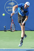 Kevin Anderson at the 2021 Citi Open. Photo by Kyle Gustafson