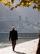 The Canal Saint Martin, Paris, France