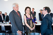 GERT-RUDOLPH FLICK; CORINNE FLICK;, Per Kirkeby Opening Reception and Dinner. Tate Modern. 16 June 2009.