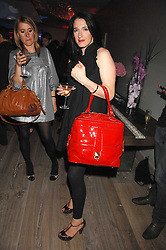 Designer AMY MOLYNEAUX at a party to celebrate the launch of a new fashion label 'Oli' at the Haymarket Hotel, 1 Suffolk Place, London on 4th July 2007.<br />