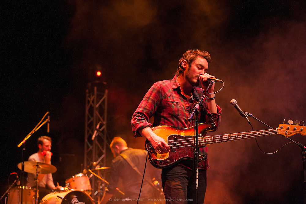 Steven McKellar and Richard Wouters of Civil Twilight performs on March 24, 2014 at the Pikes Peak Center in Colorado Springs, Colorado