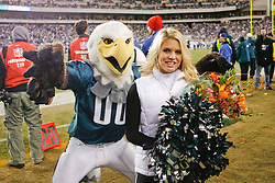 Philadelphia Eagles Cheerleader Lauren is recognized for being named as a Pro Bowl Cheerleader during the NFL game between the Denver Broncos and the Philadelphia Eagles on December 27th 2009. The Eagles won 30-27 at Lincoln Financial Field in Philadelphia, Pennsylvania. (Photo By Brian Garfinkel)
