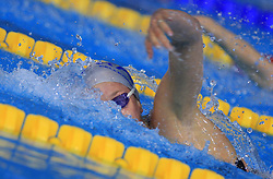 Federica Pellegrini of Italy swims to win the women's 200m freestyle race in 1 min 51 sec 85/100 setting a new world record during day 4 of LEN European Short Course Swimming Championships Rijeka 2008, on December 14, 2008,  in Kantrida pool, Rijeka, Croatia. (Photo by Vid Ponikvar / Sportida)