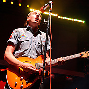 Columbia, MD - August 7th, 2010:  Montreal's Arcade Fire, currently touring behind their third album The Suburbs, perform at Merriweather Post Pavilion.  (Photo by Kyle Gustafson/For The Washington Post)