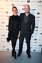 MR & MRS JAKE CHAPMAN at The Love Ball hosted by Natalia Vodianova and Lucy Yeomans to raise funds for The Naked Heart Foundation held at The Round House, Chalk Farm, London on 23rd February 2010.