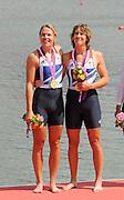 Eton Dorney, Windsor, Great Britain,..2012 London Olympic Regatta, Dorney Lake. Eton Rowing Centre, Berkshire.  Dorney Lake.  ..Final Women's Double Scull, GBR W2X, Bow Anna WATKINS and Katherine GRAINGER..12:47:53  Friday  03/08/2012 [Mandatory Credit: Peter Spurrier/Intersport Images]
