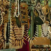 Local market in Pago Pago, Tutuila Island, American Samoa.