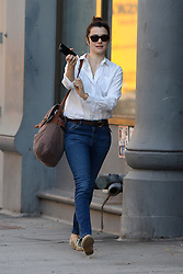 October 19, 2016 - New York, NY, USA - October 19, 2016 New York City..Rachel Weisz was seen in New York City on October 19, 2016. (Credit Image: © Callahan/Ace Pictures via ZUMA Press)