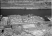 """""""Aerial of Lumber Dock. September 11, 1951"""""""