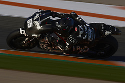 November 21, 2018 - Valencia, Spain - Hafizh Syahrin (55) of Malaysia and Red Bull KTM Tech3 during the test of the new MotoGP season 2019 at Ricardo Tormo Circuit in Valencia, Spain on 21th Nov 2018  (Credit Image: © Jose Breton/NurPhoto via ZUMA Press)