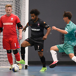 BRISBANE, AUSTRALIA - SEPTEMBER 13:  during the Southern Cross Futsal League Pacific Conference Round 2 matches at Redlands College on September 13, 2020 in Brisbane, Australia. (Photo by Patrick Kearney)