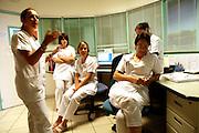 Reportage dans une unite du Centre psychotherapique de l'Ain (CPA). Viriat, FRANCE // Report in a section of the Psychotherapy Center of Ain. Viriat, France