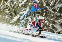 Stefan Luitz (GER) competes during 9th Men's Giant Slalom race of FIS Alpine Ski World Cup 55th Vitranc Cup 2016, on March 4, 2016 in Kranjska Gora, Slovenia. Photo by Vid Ponikvar / Sportida