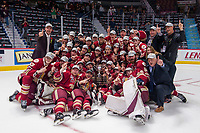 REGINA, SK - MAY 27: 2018 Memorial Cup champions Acadie-Bathurst Titan at the Brandt Centre on May 27, 2018 in Regina, Canada. (Photo by Marissa Baecker/CHL Images)