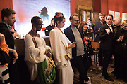 Lynette Yiadom-Boakye.,SARA FARAJ,, SERPENTINE PARTY, Palazzo Benzon  9 May 2019