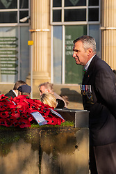 Remembrance Sunday Barnsley <br /> <br />  Copyright Paul David Drabble<br />  10 November 2019<br />  www.pauldaviddrabble.co.uk