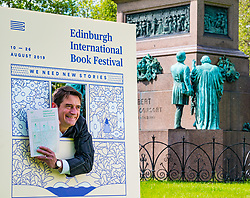 Pictured: International Book Festival Launch. Charlotte Square Gardens, Edinburgh, Scotland, United Kingdom, 06 June 2019. Nick Barley, Director of Edinburgh International Book Festival launches the 2019 Book Festival programme.<br /> <br /> Sally Anderson | EdinburghElitemedia.co.uk