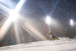 08.01.2019, Hermann Maier Weltcupstrecke, Flachau, AUT, FIS Weltcup Ski Alpin, Slalom, Damen, 1. Lauf, im Bild Magdalena Fjaellstroem (SWE) // Magdalena Fjaellstroem of Sweden in action during her 1st run of ladie's Slalom of FIS ski alpine world cup at the Hermann Maier Weltcupstrecke in Flachau, Austria on 2019/01/08. EXPA Pictures © 2019, PhotoCredit: EXPA/ Johann Groder