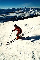 Canada: Winter in the Rockies.  Skiing at Goat's Eye-Sunshine.  Photo #: canwin103..Photo copyright Lee Foster, 510/549-2202, lee@fostertravel.com, www.fostertravel.com