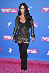 Jennifer 'JWoww' Farley attends the 2018 MTV Video Music Awards at Radio City Music Hall on August 20, 2018 in New York City. Photo by Lionel Hahn/ABACAPRESS.COM