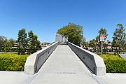 Watson Bridge Looking From UCI Towards University Center Shopping Area