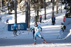 14.02.2021, Center Pokljuka, Pokljuka, SLO, IBU Weltmeisterschaften Biathlon, Sprint, Damen, im Bild chevalier boichet (anais) (fra) // during womens Sprint competition of IBU Biathlon World Championships at the Center Pokljuka in Pokljuka, Slovenia on 2021/02/14. EXPA Pictures © 2021, PhotoCredit: EXPA/ Pressesports/ Frederic Mons<br /> <br /> *****ATTENTION - for AUT, SLO, CRO, SRB, BIH, MAZ, POL only*****