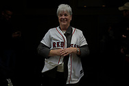 The Women's Memorial Director of Public Relatiions, Marilla Cushman, is a retired LTC and a Red Sox Fan.