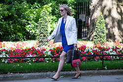 © Licensed to London News Pictures. 06/06/2018. London, UK. Chief Secretary to the Treasury Elizabeth Truss on Downing Street. Photo credit: Rob Pinney/LNP