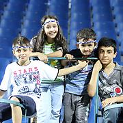 Kasimpasa's young supporters during their Turkish superleague soccer match Kasimpasa between Kardemir Karabukspor at the Recep Tayyip erdogan stadium in Istanbul Turkey on Friday 24 August 2012. Photo by TURKPIX
