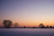 Winter Dusk, Isle of Funen, Denmark